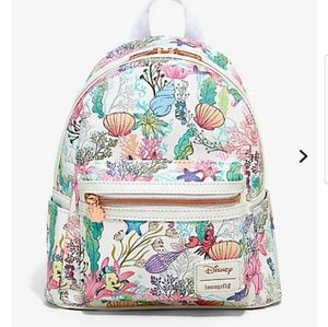 Loungefly Little Mermaid Under The Sea Backpack